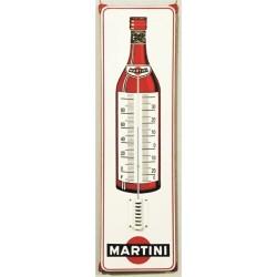 Thermometer 21x75 cm mit Ohren Martini