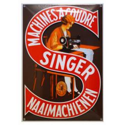 Singer Nähmaschine Schild Naaimachienen