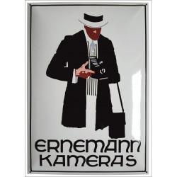 Ernemann Kameras Emailleschild