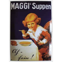 Maggis Suppen Emailleschild