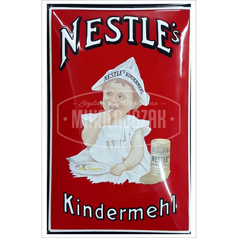 Nestle Kindermehl Emailleschild