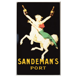 Sandeman Port Emailleschild 60x100 cm