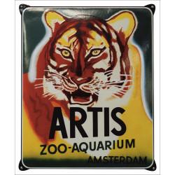 ARTIS Amsterdam Zoo Werbung Schild