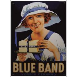 Blue Band Versch Gekarnd Emailleschild 40x50cm