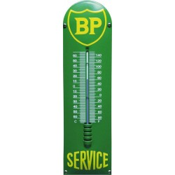Emaille Thermometer mit BP logo