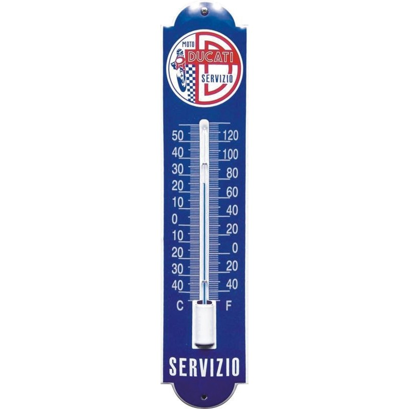 Ducati Emaille Thermometer