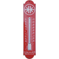 Kreidler Emaille Thermometer 6,5x30cm