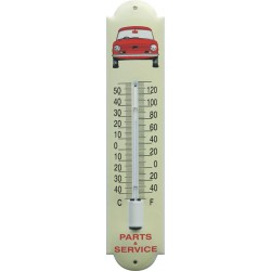 Parts and Service Emaille Thermometer 6,5x30cm