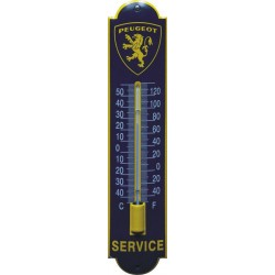 Peugeot Emaille Thermometer 6,5x30cm