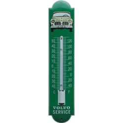 Volvo Emaille Thermometer 6,5x30cm