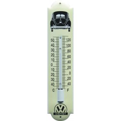 VW Dients Emaille Thermometer 6,5x30cm