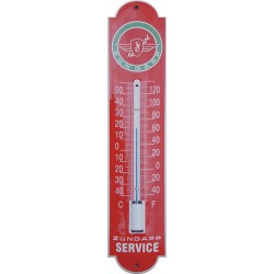 Zundapp Emaille Thermometer 6,5x30cm