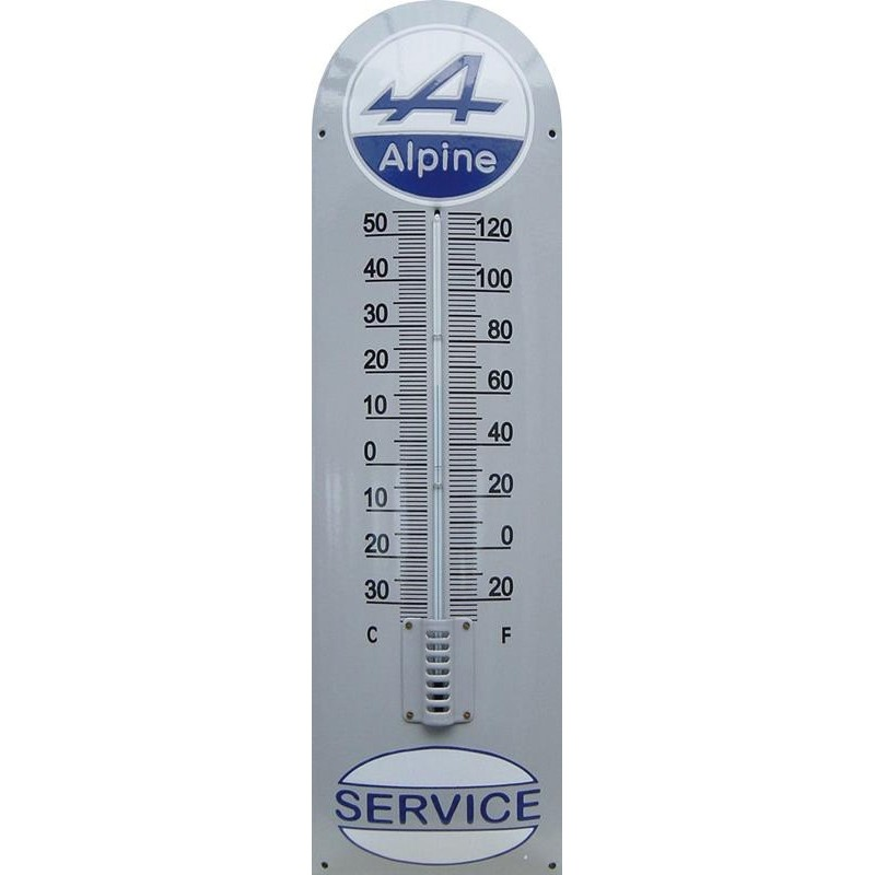 Alpine Emaille Thermometer