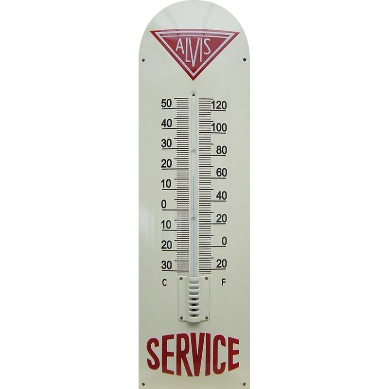 Alivs Service Emaille Thermometer