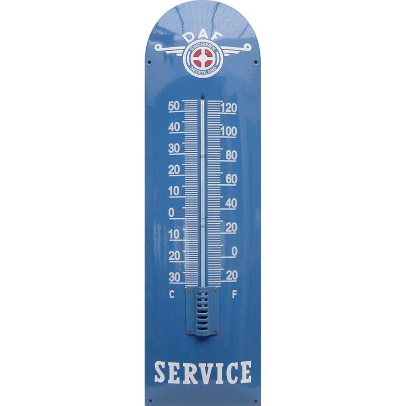 Daf Service Emaille Thermometer