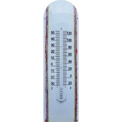 Deco Color Emaille Thermometer