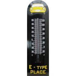 E-type Place auto front 22x75cm