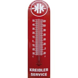 Kreidler Service Emaille Thermometer