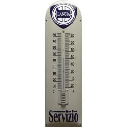 Lancia Servizio Emaille Thermometer