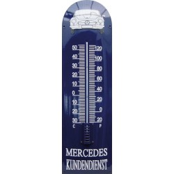 Mercedes Kundendienst Auto Front Emaille Thermometer