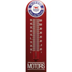 Morris Motors Emaille Thermometer