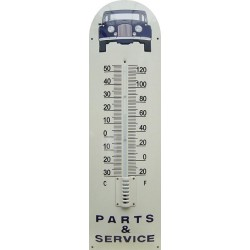Part And Service Blue Auto Front Emaille Thermometer