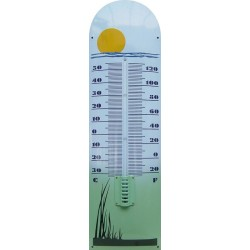 Sun Grass Emaille Thermometer