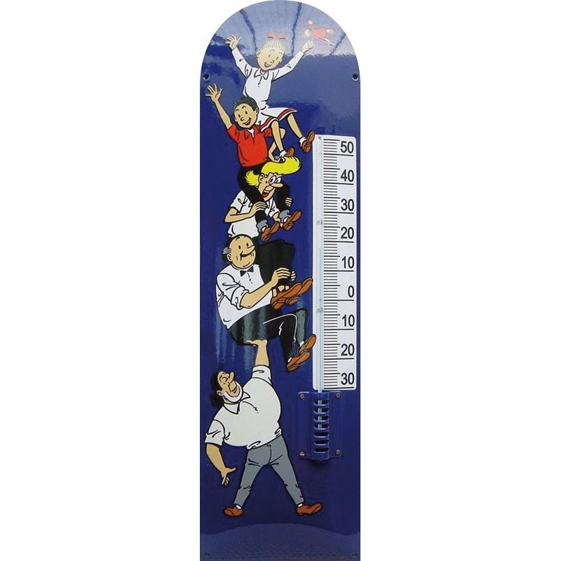 Suskie Blue Emaille Thermometer