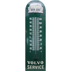 Volvo Service Auto Front Emaille Thermometer