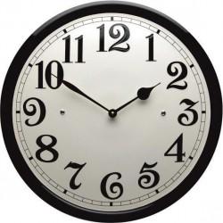 Emaille Uhr mit Arabische Ziffern
