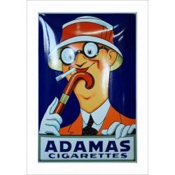 Adamas Cigarettes Emailleschild