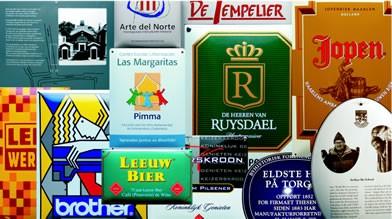 Emaille Schilder nach Ihrem Projekt